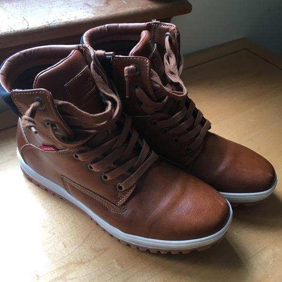 db37318ff9733 Levi's Shoes | Mens Levis Boots Size 75 | Poshmark